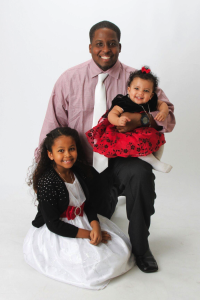 Devynn and his two daughters