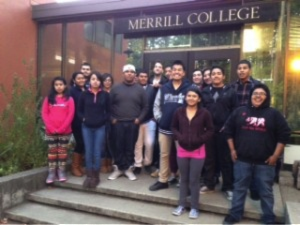 Pescadero HIgh School Students visit UCSC
