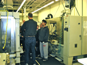 Students see state-of-the-art technology on Agilent field trip